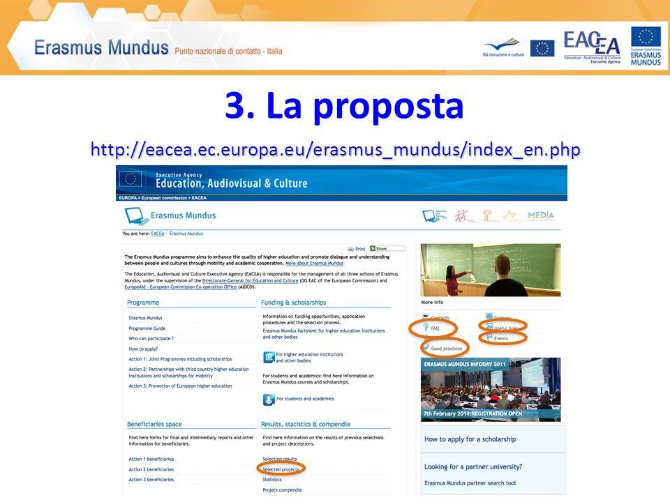 http://eacea.ec.europa.eu/erasmus_mundus/index_en.php 3. La proposta