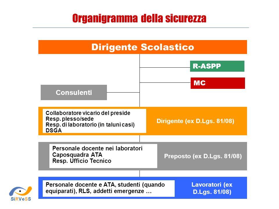 D.Lgs.81/08, D.M. 382/98 e C.M.