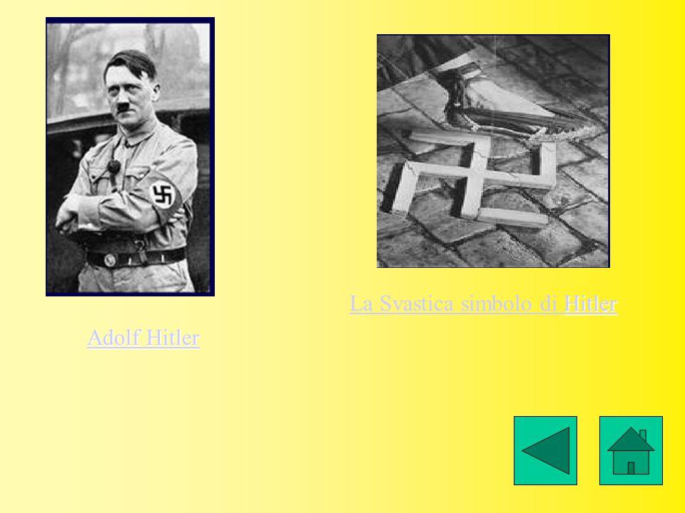 Adolf Hitler Adolf Hitler La Svastica simbolo di Hitler