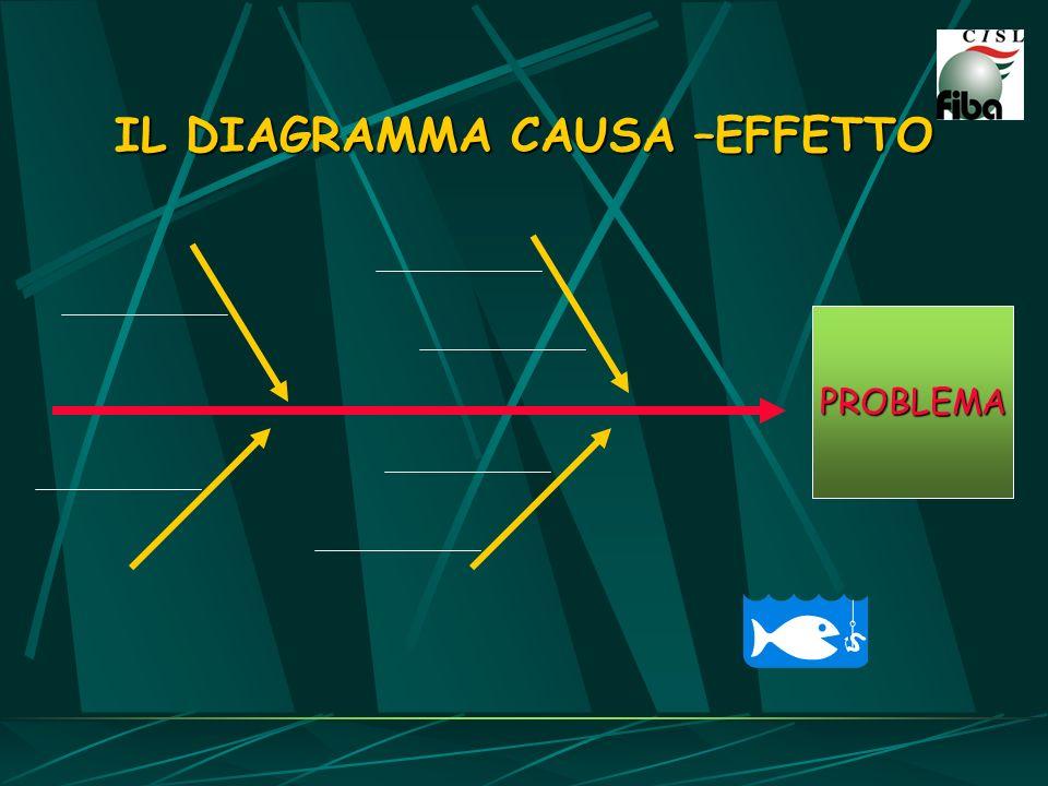 IL DIAGRAMMA CAUSA –EFFETTO PROBLEMA