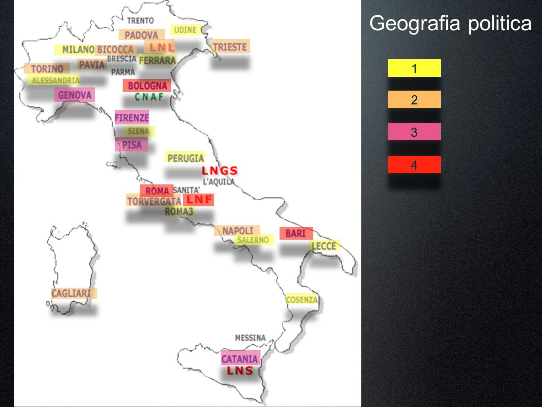 1 4 3 2 1 Geografia politica