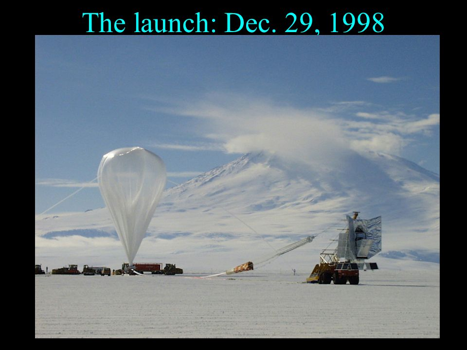 The launch: Dec. 29, 1998