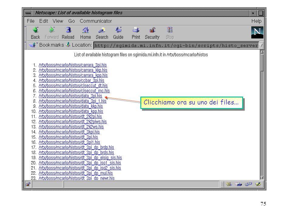 74 open( PAW,./paw2.sh |) ; Apriamo una PIPE per eseguire lo script che fa girare PAW Apriamo una PIPE per eseguire lo script che fa girare PAW while(