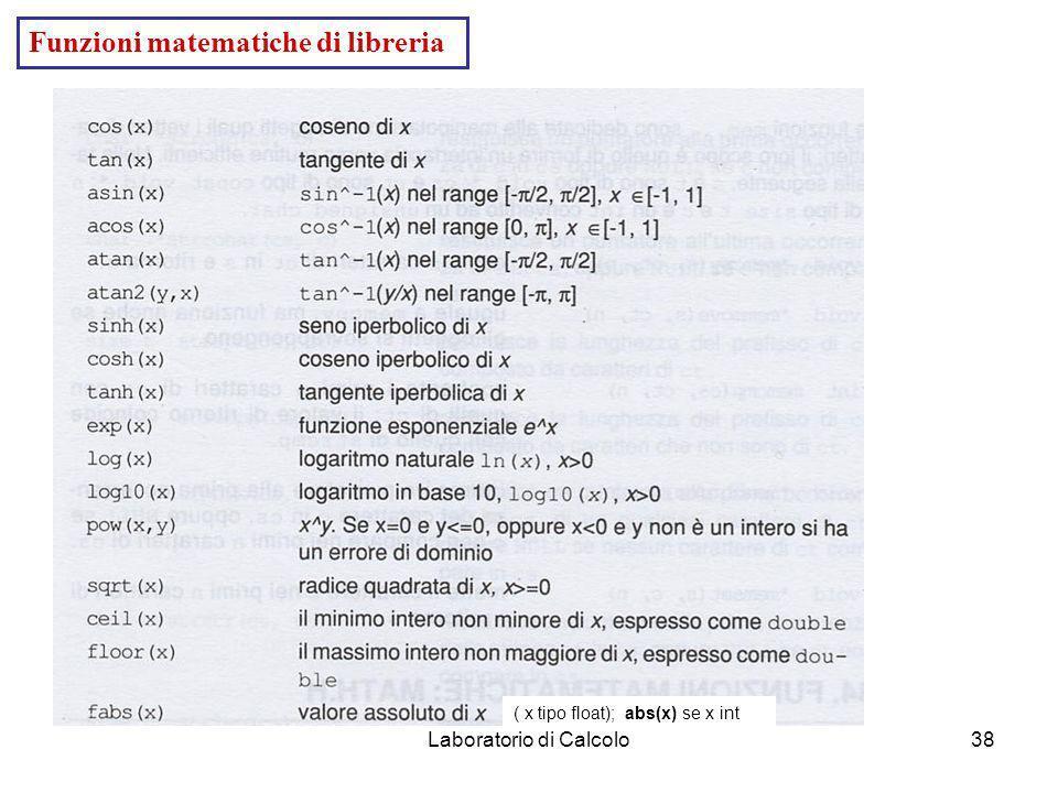 Laboratorio di Calcolo37 /* Vector handling II*/ #include #define NMAX 100 int leggiv(float *); void stampav(float *,int); //-------------------------