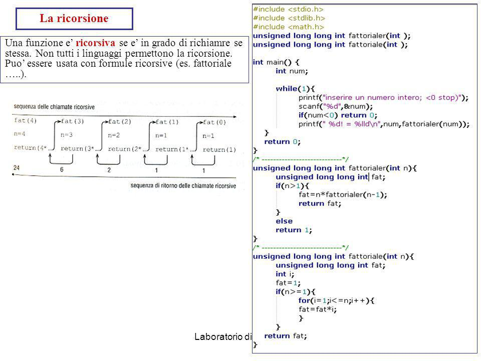 Laboratorio di Calcolo47