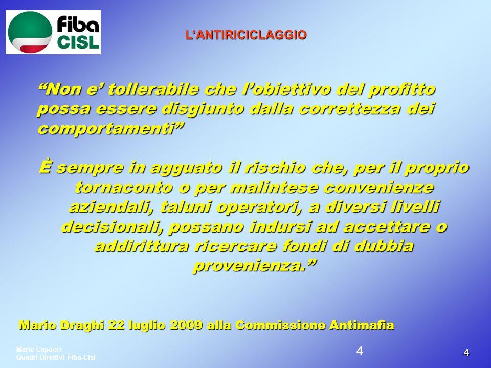 55 L ANTIRICICLAGGIO Legge 5 luglio 1991 n.197 Legge 5 luglio 1991 n.