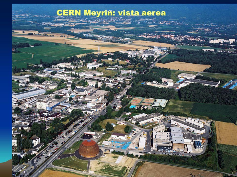 CERN Meyrin: vista aerea