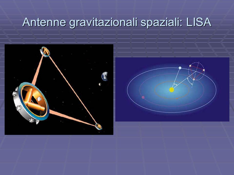 Antenne gravitazionali spaziali: LISA