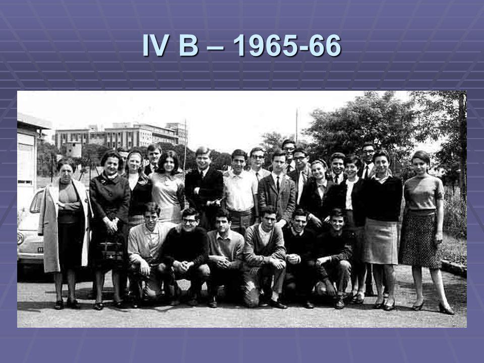 IV B – 1965-66