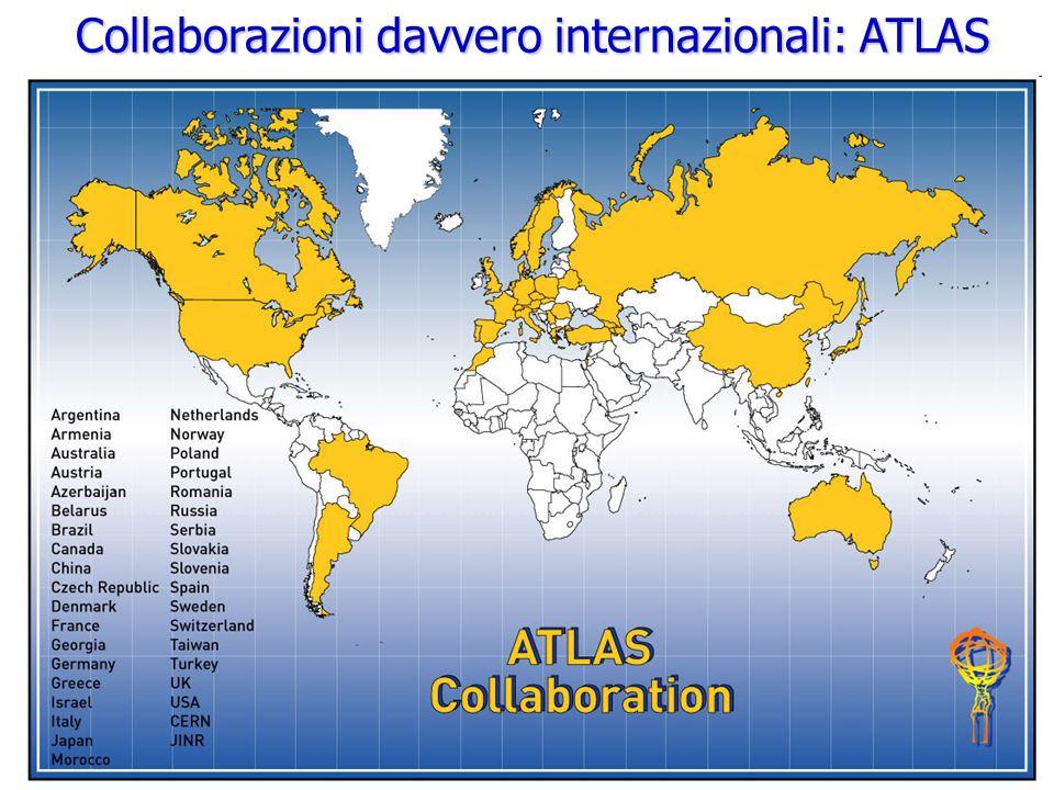Roberto Chierici5 ATLAS detector Dimensioni: 46 m lunghezza, 25 m altezza e 25 m larghezza.