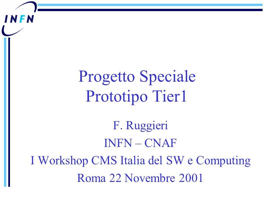 Progetto Speciale Prototipo Tier1 F.