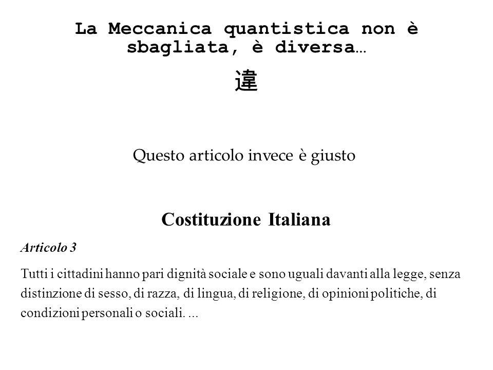 Costituzione Italiana Articolo 3 Tutti i cittadini hanno pari dignità sociale e sono uguali davanti alla legge, senza distinzione di sesso, di razza,