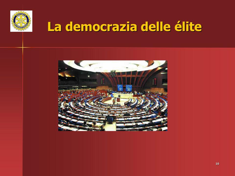 10 La democrazia delle élite