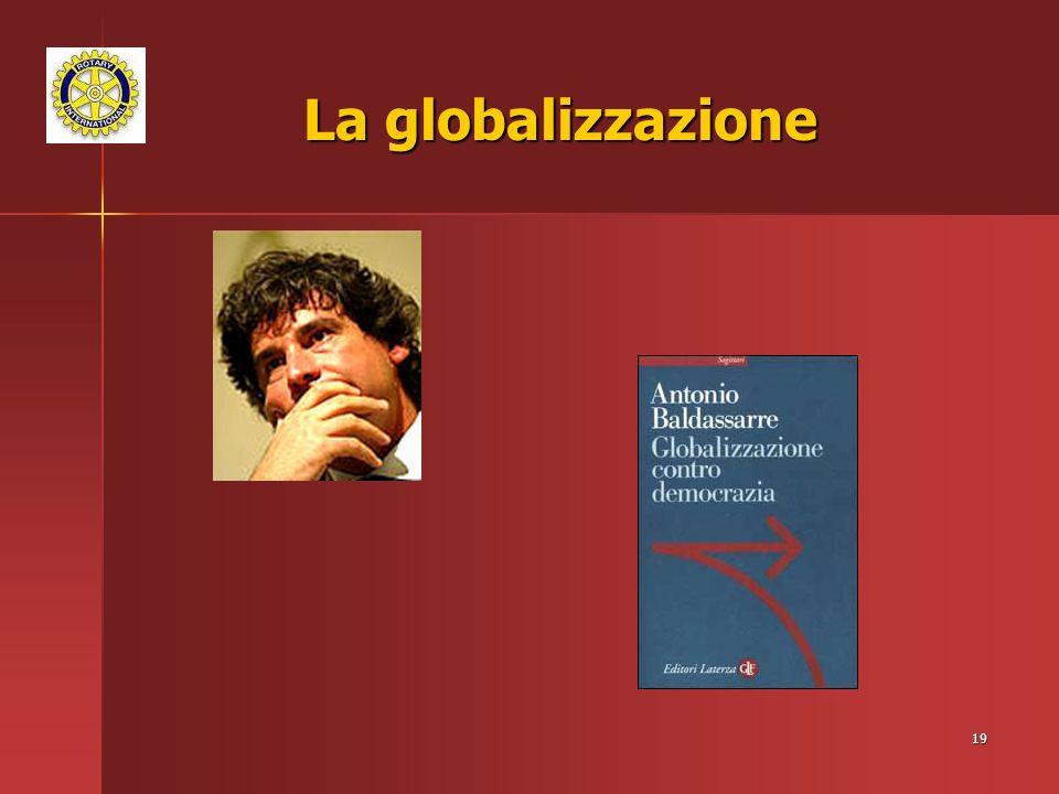 19 La globalizzazione