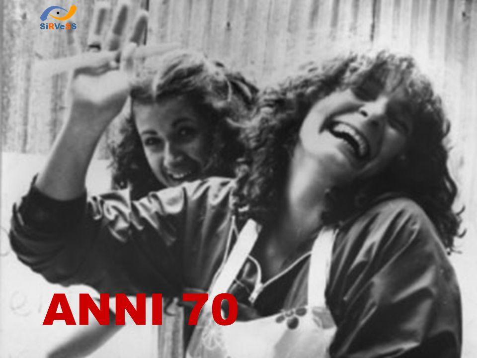 DPR: 1204/71 Tutela delle lavoratrici madri Lo sviluppo del sistema legislativo in materia di sicurezza sul lavoro ANNI SETTANTA 1961 - Campagna ferrarese Donne alla raccolta saccarifera SiRVeSS