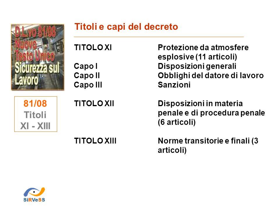 Evoluzione del del sistema legislativo in materia di sicurezza sul lavoro D.Lgs.