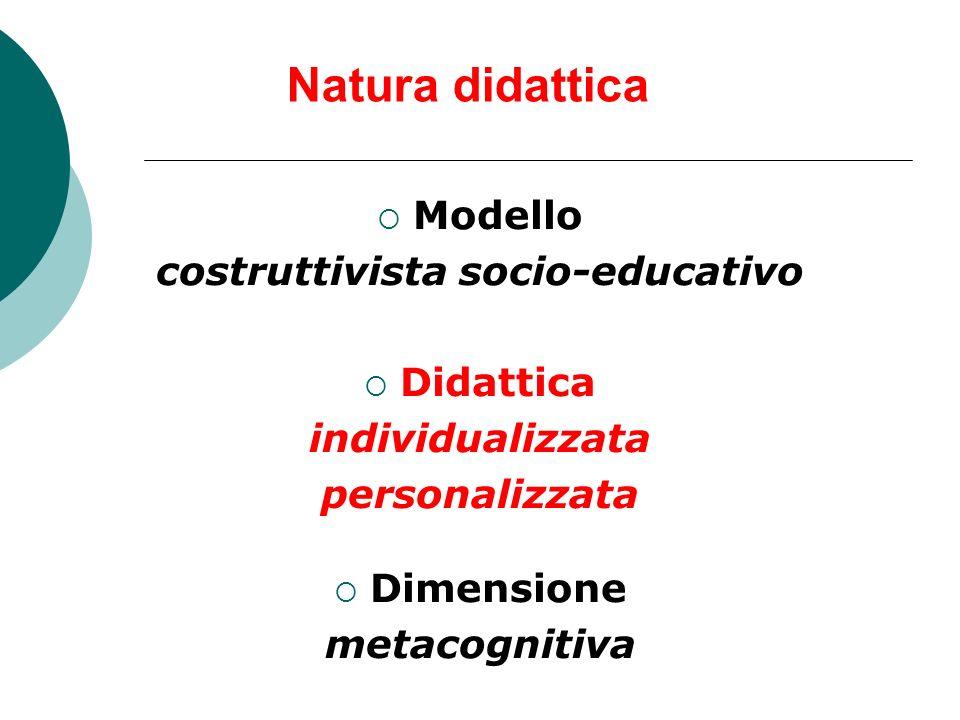 LA LOGICA METACONOSCENZE * Saper costruire socialmente le conoscenze ** Saper imparare ad imparare autonomamente