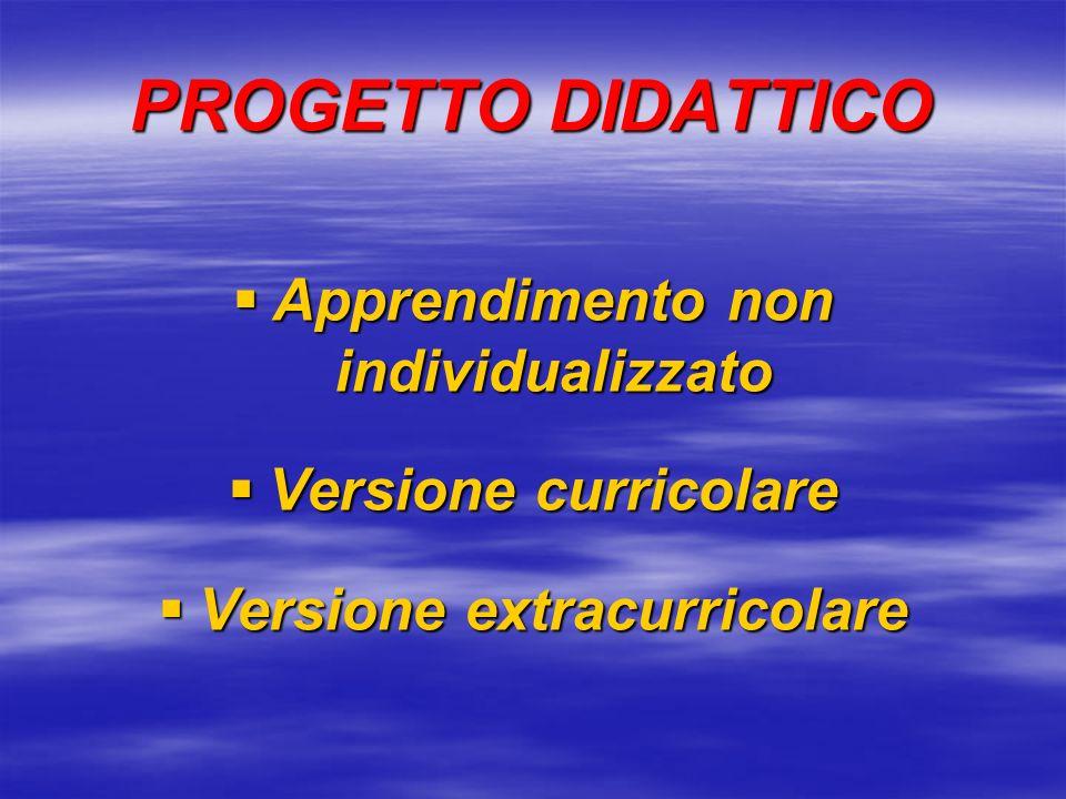 PROGETTO DIDATTICO Dimensione Dimensioneinterdisciplinare della ricerca Dimensione Dimensionecollegiale