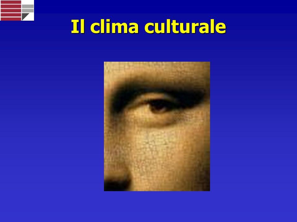 Il clima culturale