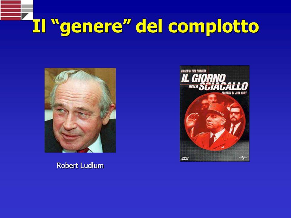Il genere del complotto Robert Ludlum