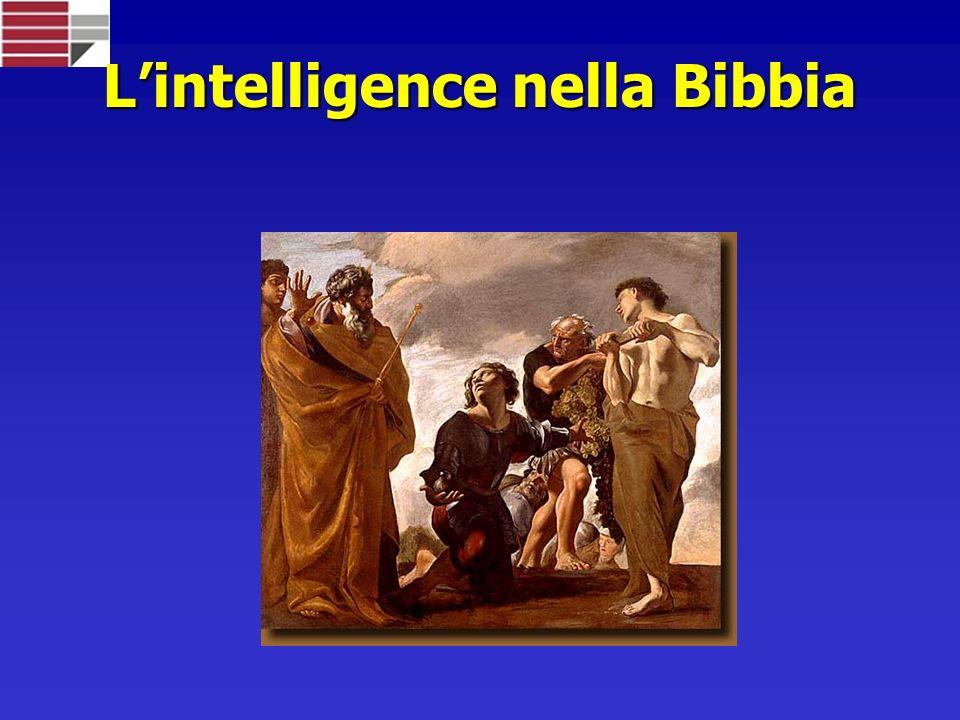 Lintelligence nella Bibbia