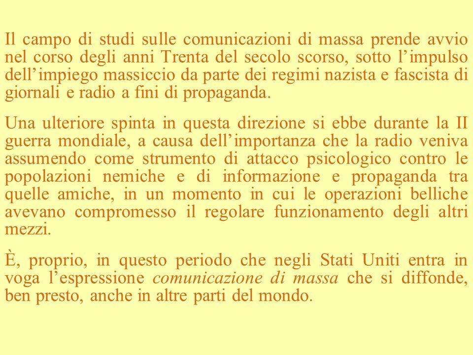 Il terzo fattore riguarda, invece, i mutamenti intervenuti nella domanda di conoscenza sui media.