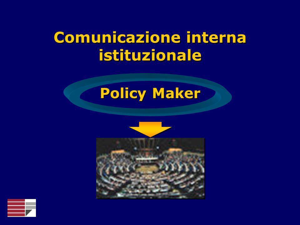 Comunicazione interna istituzionale Policy Maker