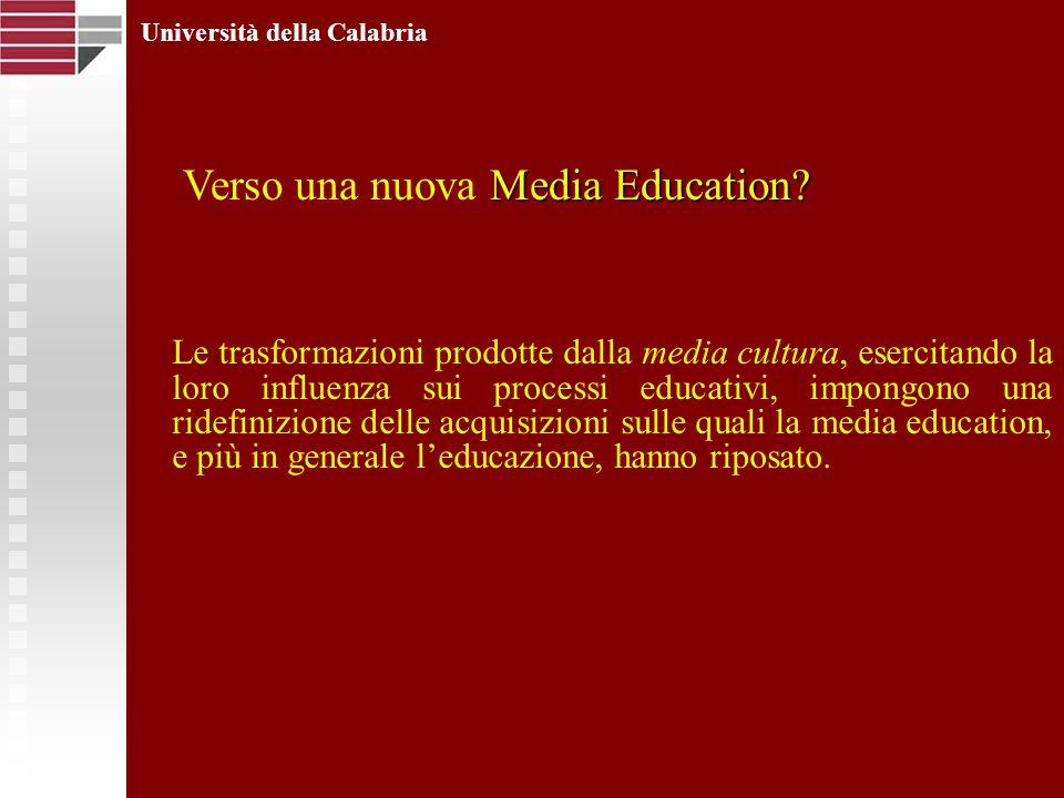 Le trasformazioni prodotte dalla media cultura, esercitando la loro influenza sui processi educativi, impongono una ridefinizione delle acquisizioni s