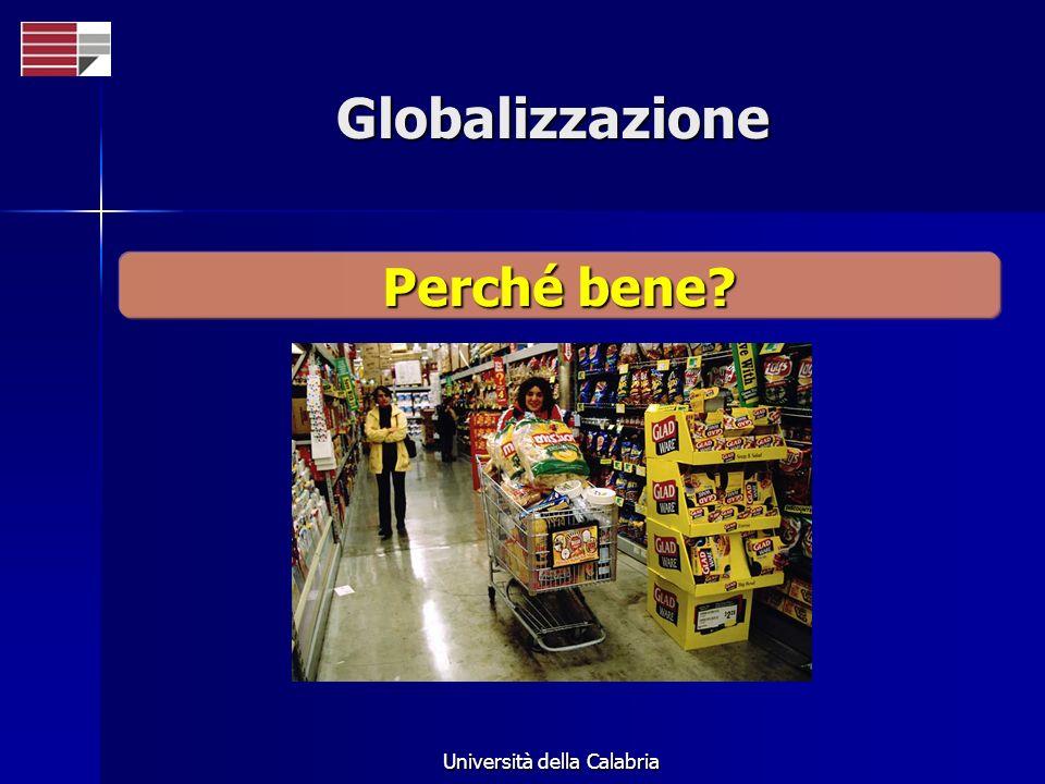 Globalizzazione Perché bene?