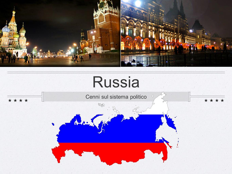 Russia Cenni sul sistema politico
