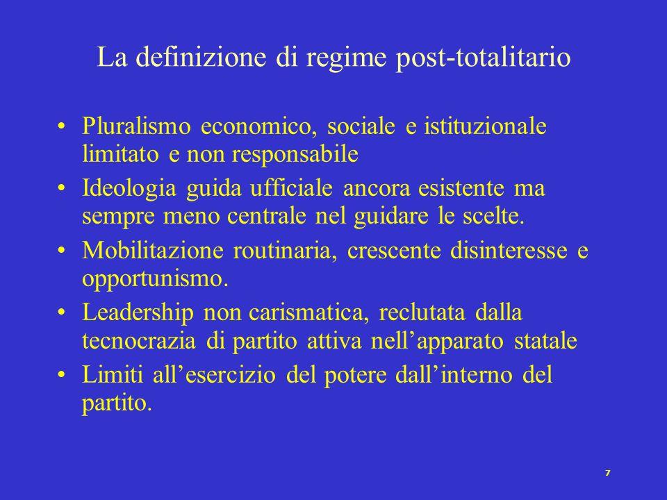 6 Pluralismo economico e sociale debole e soggetto allarbitrio del sultano. Nessuna ideologia articolata e neppure mentalità caratteristica; personali