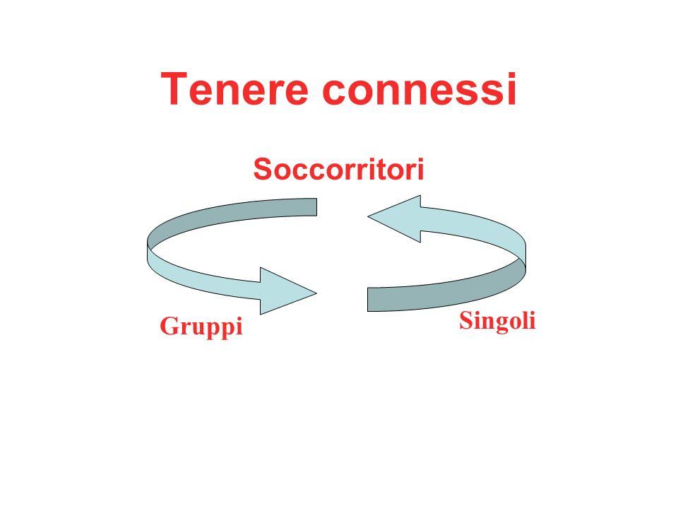 Tenere connessi Soccorritori Gruppi Singoli