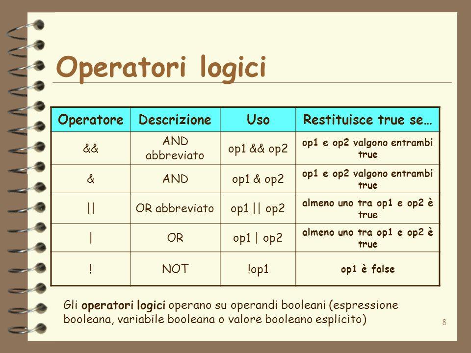 19 Selezione a due vie La selezione a due vie permette di effettuare una scelta tra due blocchi di istruzioni if( ){ ; } else{ } ;...