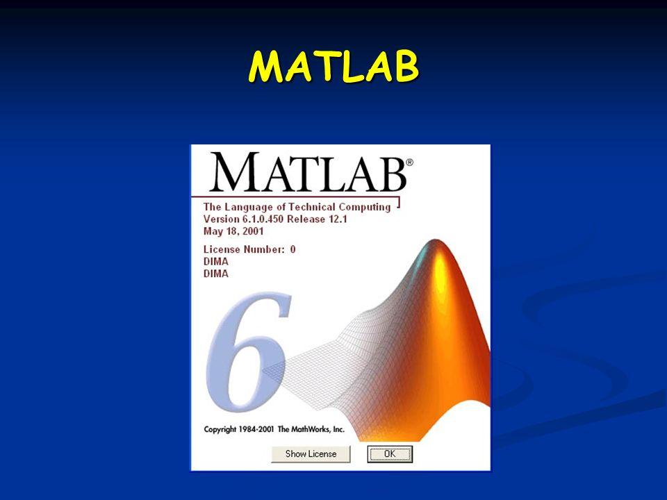 …oggi… Programmare in Matlab Programmare in Matlab Funzioni Funzioni Cicli Cicli Operatori relazionali Operatori relazionali Indipendenza lineare, basi, sottospazi Indipendenza lineare, basi, sottospazi Esercizi vari Esercizi vari