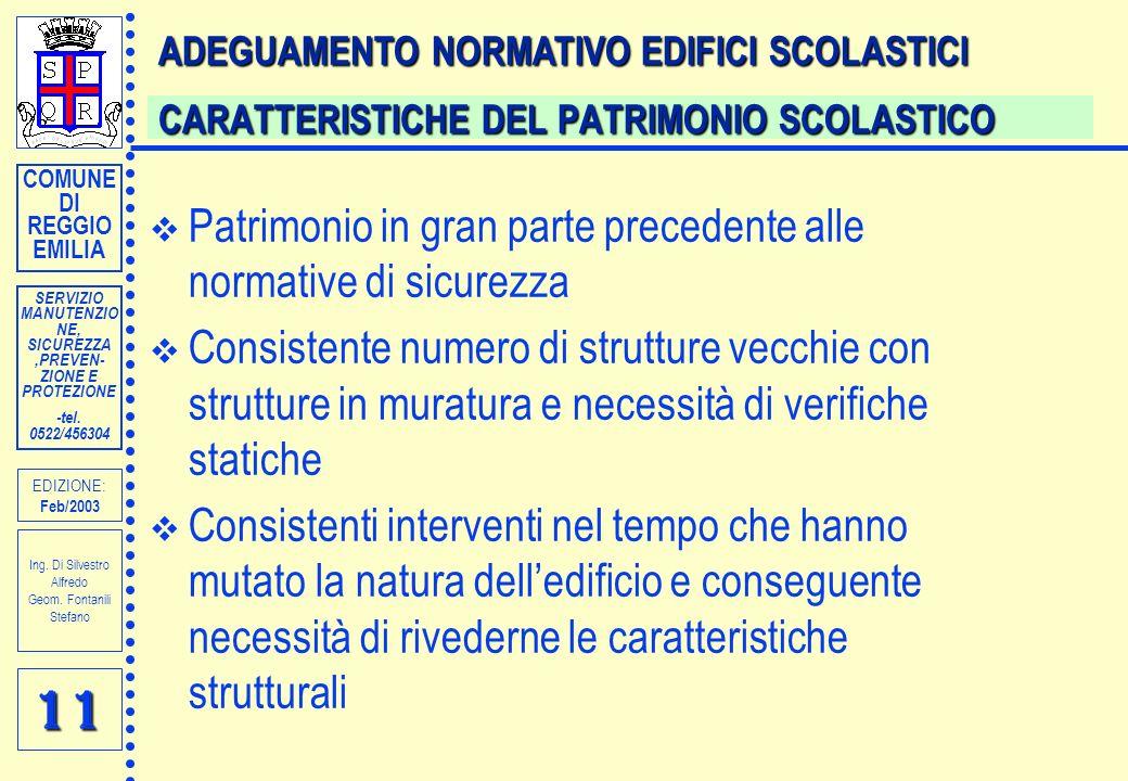 SERVIZIO MANUTENZIO NE, SICUREZZA,PREVEN- ZIONE E PROTEZIONE -tel.