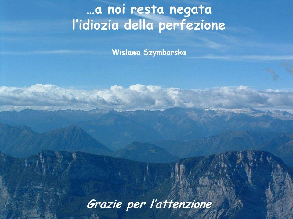 22-11-'05 Reggio EmiliaG. Parisi21 …a noi resta negata lidiozia della perfezione Wislawa Szymborska Grazie per lattenzione