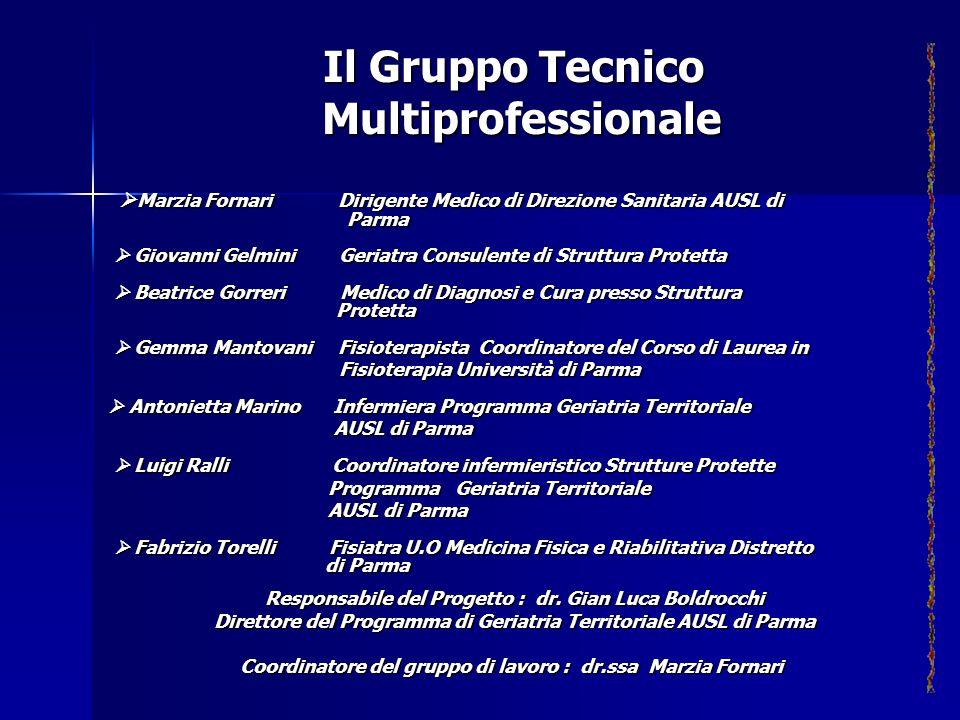Marzia Fornari Dirigente Medico di Direzione Sanitaria AUSL di Parma Marzia Fornari Dirigente Medico di Direzione Sanitaria AUSL di Parma Giovanni Gel