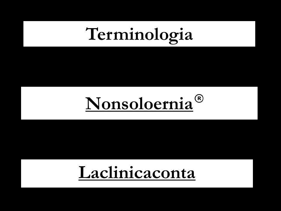 Nonsoloernia Laclinicaconta Terminologia