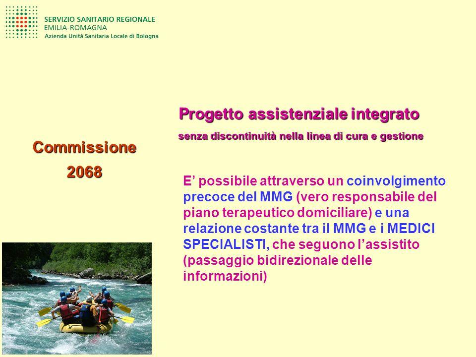 E possibile attraverso un coinvolgimento precoce del MMG (vero responsabile del piano terapeutico domiciliare) e una relazione costante tra il MMG e i