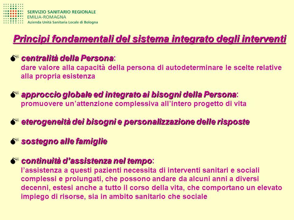 Principi fondamentali del sistema integrato degli interventi centralità della Persona centralità della Persona: dare valore alla capacità della person