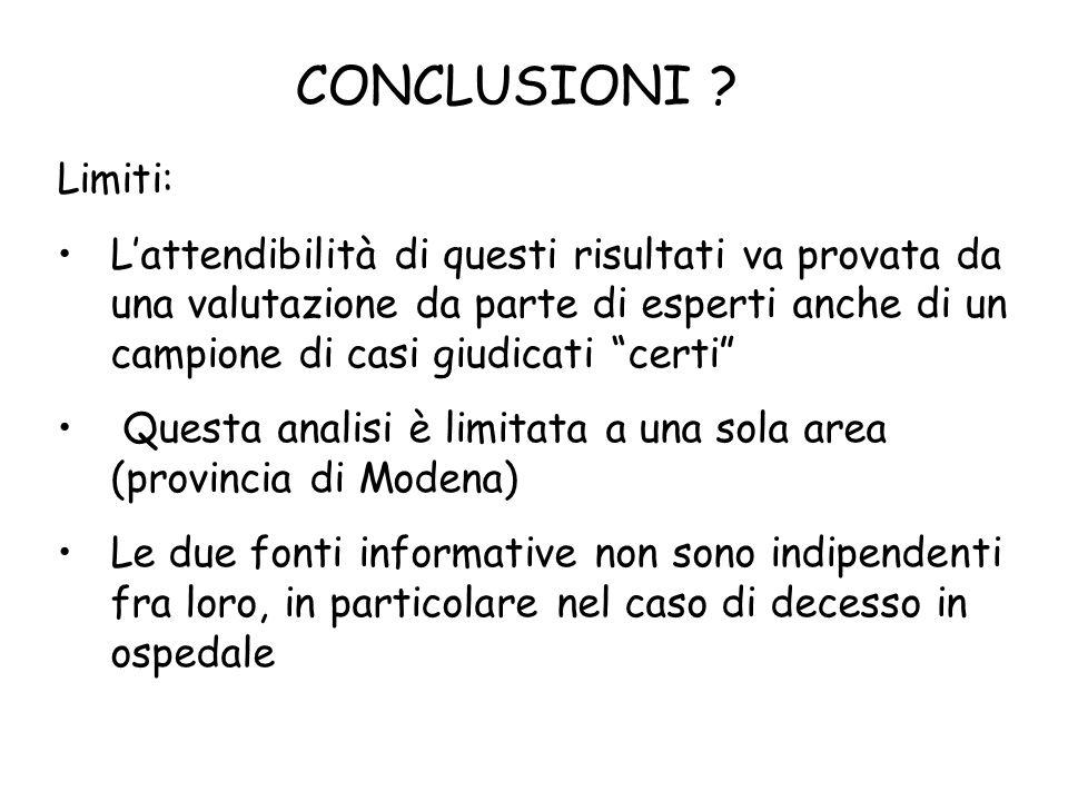 CONCLUSIONI .