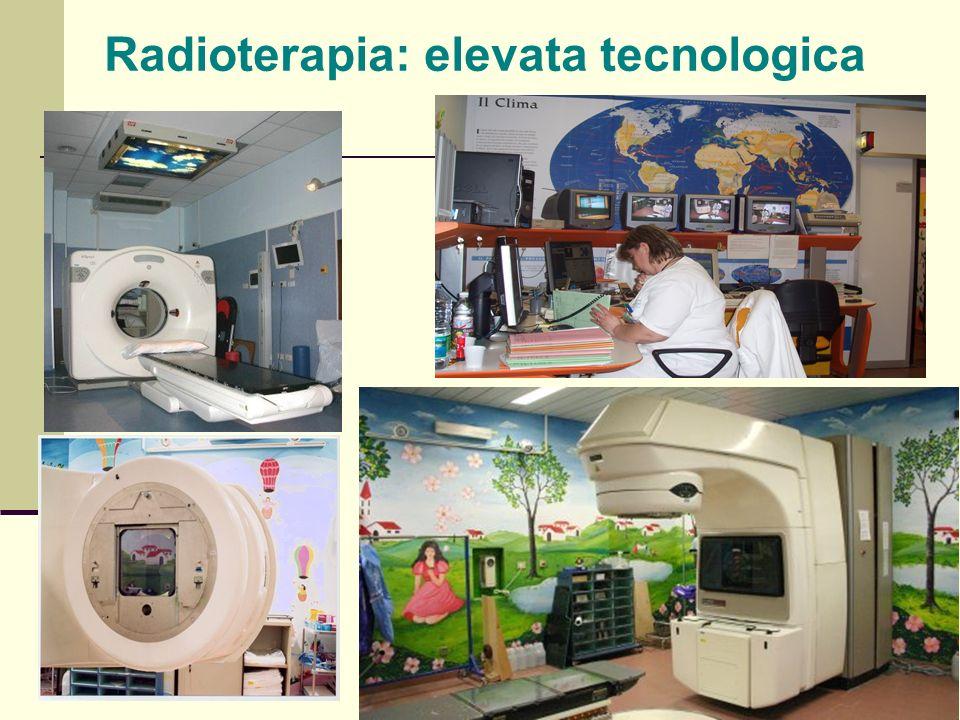 Radioterapia: elevata tecnologica
