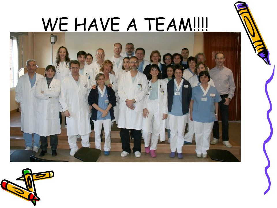 WE HAVE A TEAM!!!! FOTO TEAM