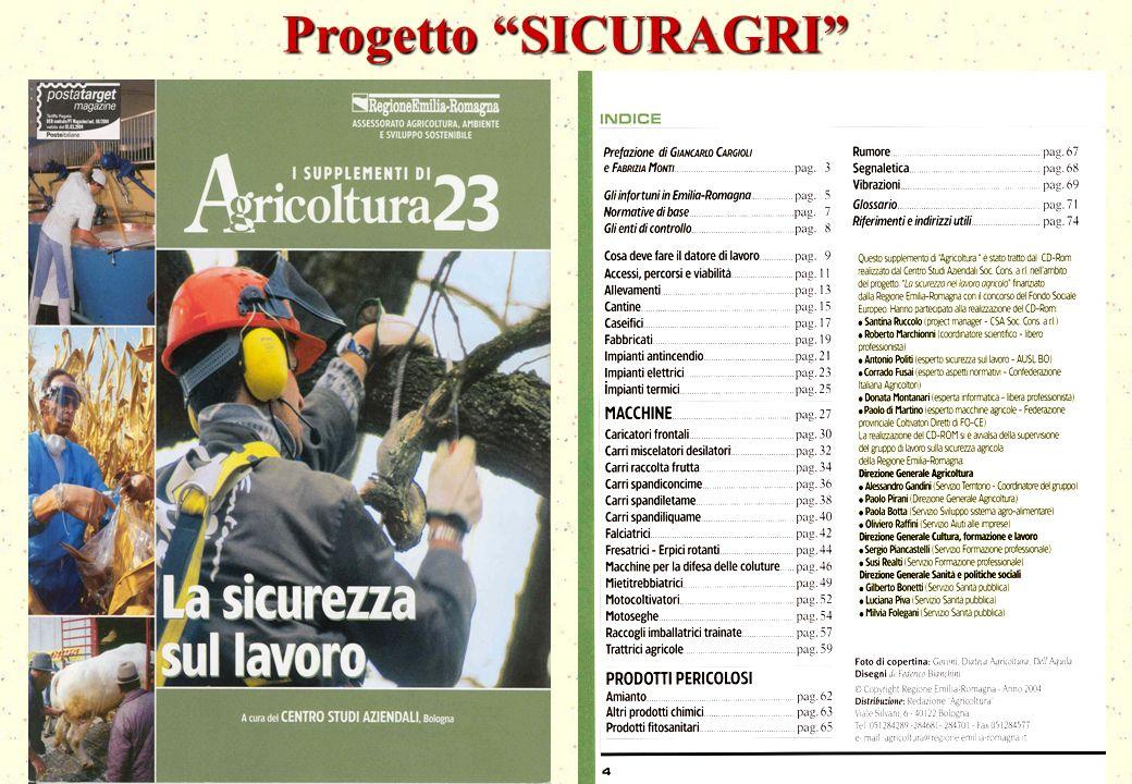 16 Progetto SICURAGRI