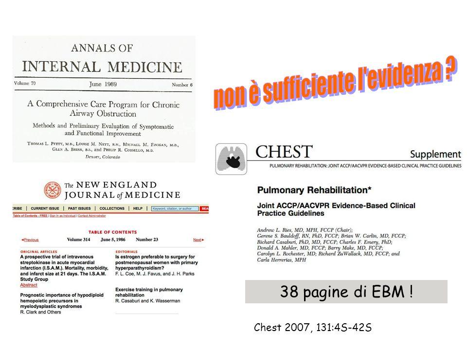 Chest 2007, 131:4S-42S 38 pagine di EBM !