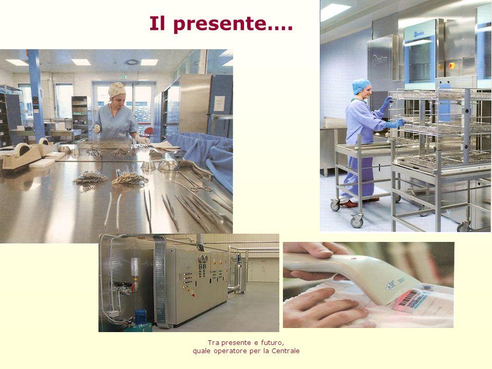 Tra presente e futuro, quale operatore per la Centrale La sterilizzazione è un processo speciale Realizzazione sicura di ogni attività che compone il processo A garanzia del risultato Alto grado di standardizzazione UNI EN 556-1