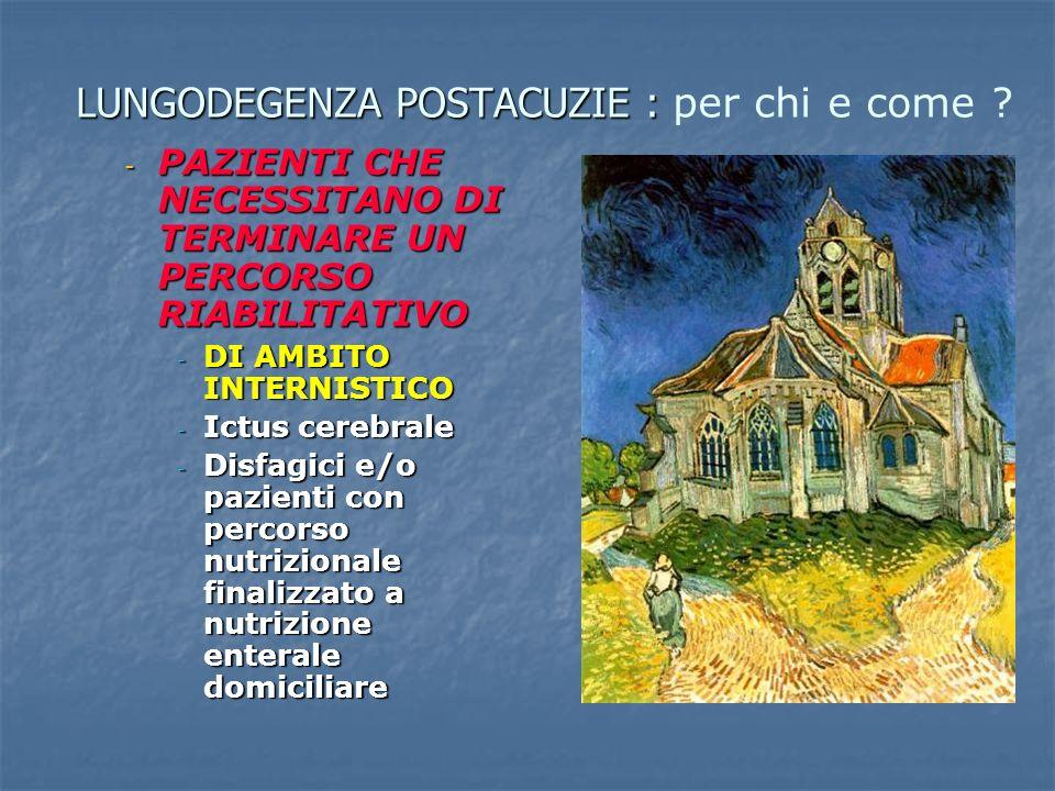 Piano sociale e sanitario 2008-2010 Regione Emilia Romagna 4.2 La Lungodegenza ….La dimissione protetta è lo strumento che permette di sostenere lassistenza secondo la logica del processo e di migliorarne la continuità delle cure ospedale-territorio.