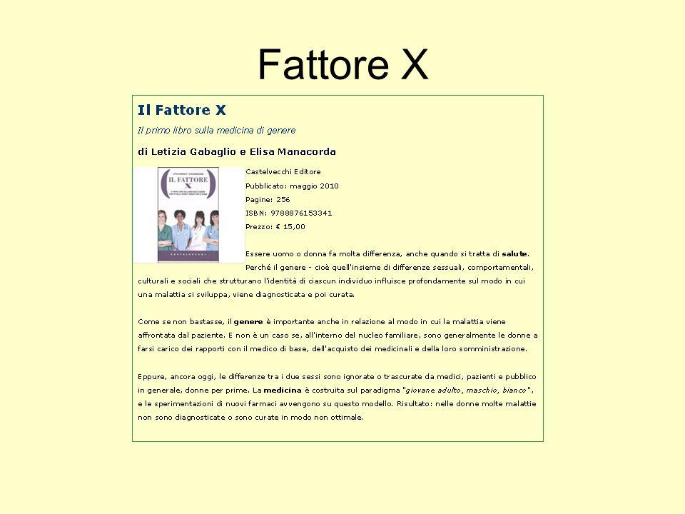 Fattore X
