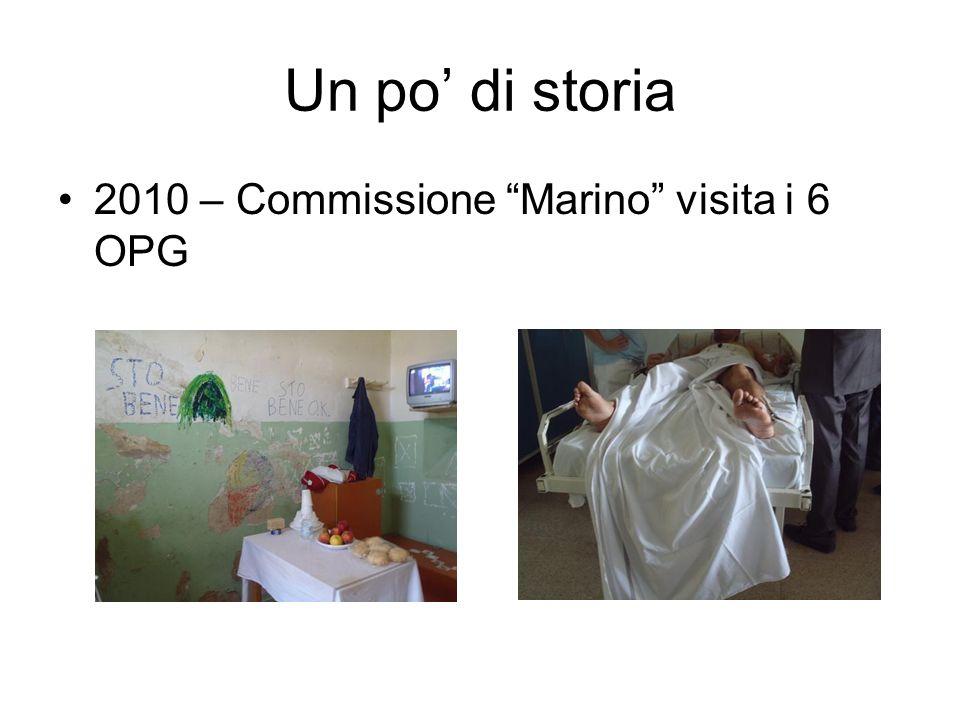 Un po di storia 2010 – Commissione Marino visita i 6 OPG