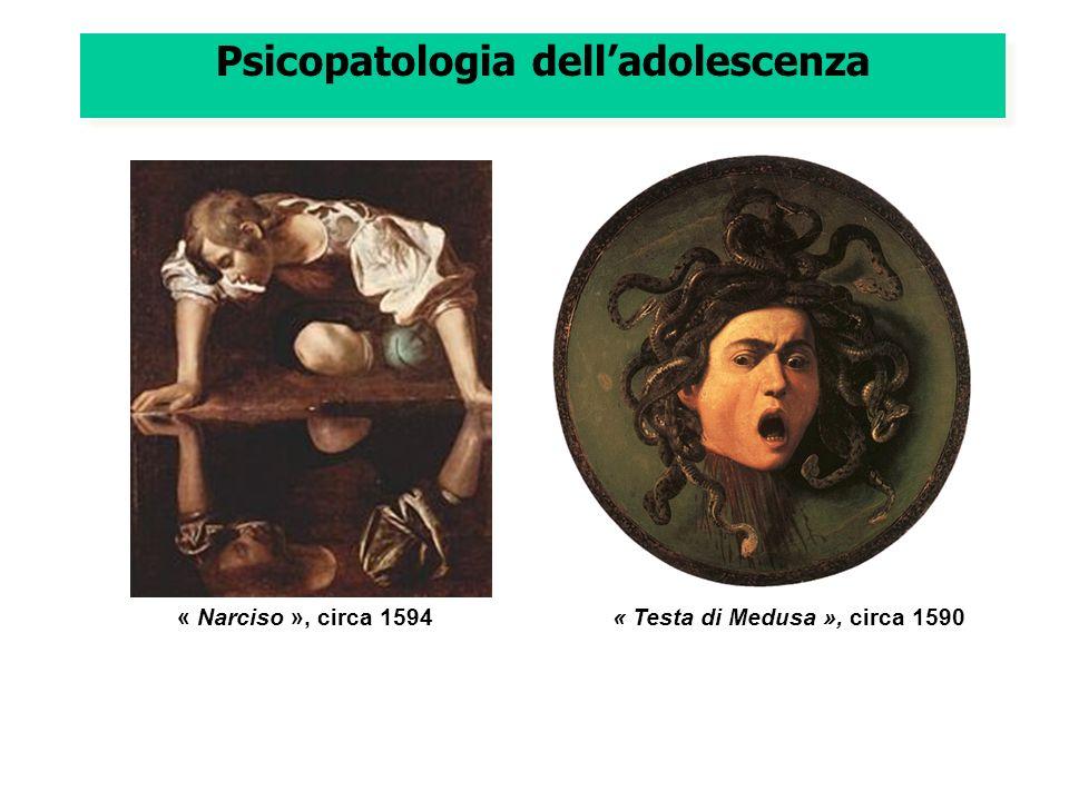 Psicopatologia delladolescenza « Narciso », circa 1594« Testa di Medusa », circa 1590